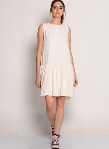 One O Eıght Elbise Beyaz